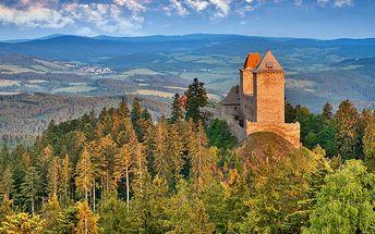 Tři dny v Kašperských Horách s wellness pro dva