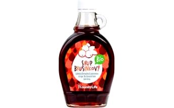 Sirup brusinkový BIO 250 ml