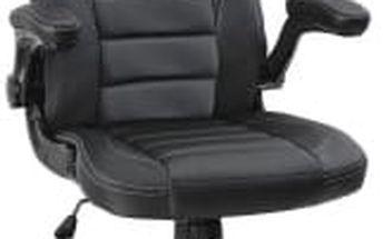 Kancelářské křeslo - racing design (černá)
