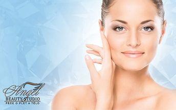 Diamantová mikrodermabraze a kosmetické ošetření v Beauty Studiu Angel v Praze