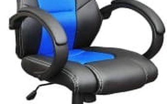 Otočná kancelářská židle modrá MX Racer OEM M09497