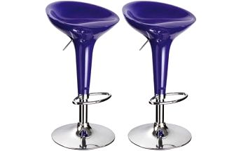 2x Barová židle Signal Krokus A-148 (fialová)