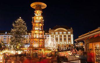 1denní adventní zájezd do Drážďan a na zámek Moritzburg pro 1 osobu