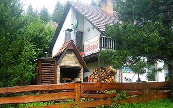 Podzimní dovolená pro dva na Horní Bečvě včetně polopenze