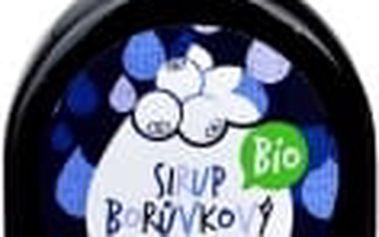 Sirup borůvkový BIO 250 ml