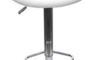 Barová židle CL-3230 WT bílá