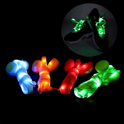 Svítící tkaničky - 120 cm