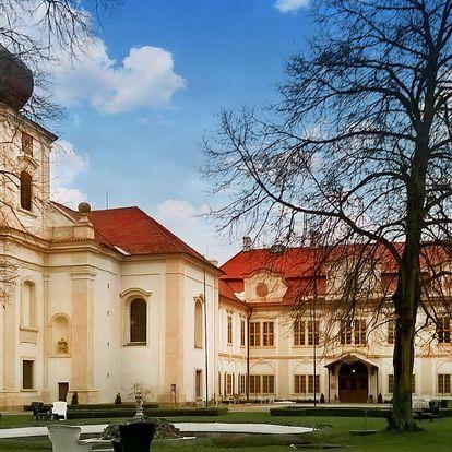 Romantika u zámku Loučeň - bazén i bludiště