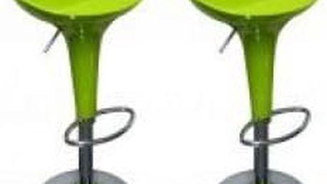 2x Barová židle Signal Krokus A-148 (limetková)