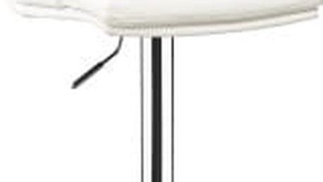 Barová židle CL-7006-2 WT (bílá) - 1 kus