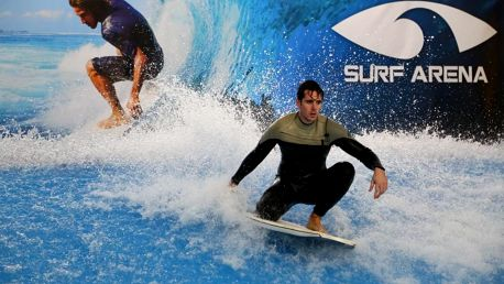 Indoor surfing