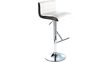 Barová židle CL-8005 WT (bílá) - 1 kus