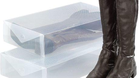 Set 2 úložných boxů na kozačky Wenko Pack
