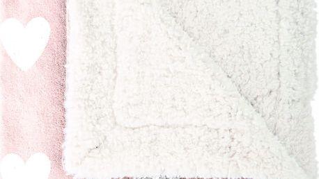 Dětský pléd Mistral Home Amore pink, 130x170 cm