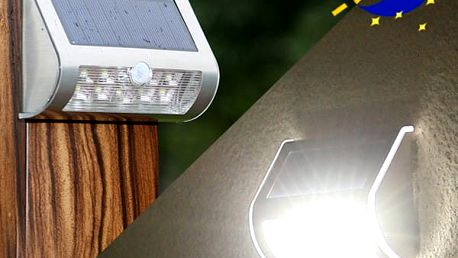 Venkovní LED svítidlo s pohybovým čidlem