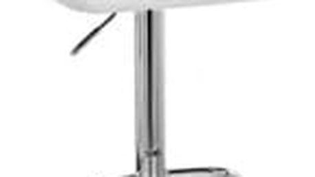 Barová židle CL-3335-2 WT bílá