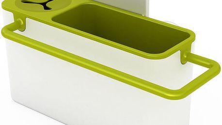 Stojánek na mycí prostředky, bílá/zelená
