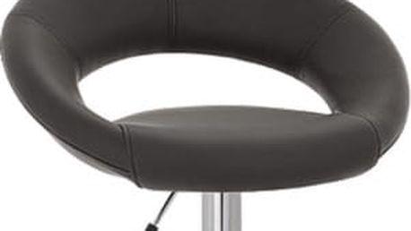 Barová židle CL-3230 BK černá