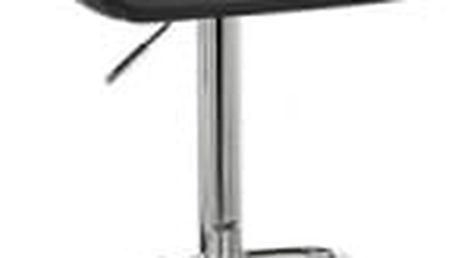 Barová židle CL-3335-2 BK (černá) - 1 kus