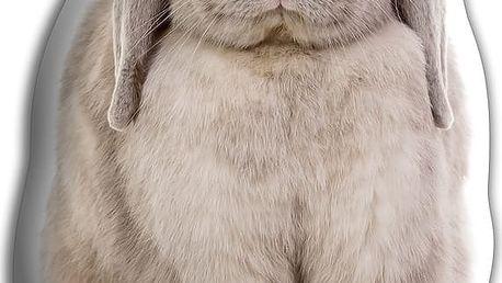 Polštářek Šedý králíček