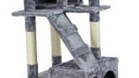 Škrabadlo pro kočky, 170x75x50 cm , barva antracit