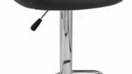 Barová židle Martina (černá) - 1 kus