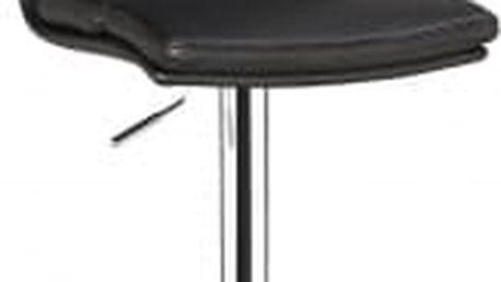 Barová židle CL-7006-2 BK (černá) - 1 kus
