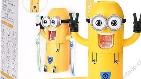 Automatický dávkovač na pastu 3v1. Dávkování zubní pasty bude o tolik zábavnější.