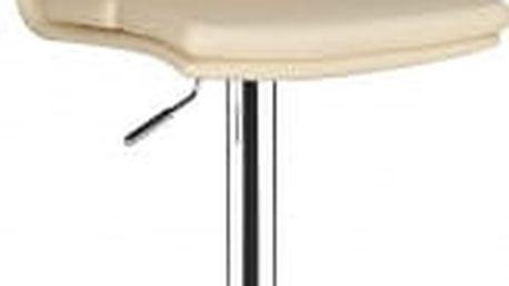 Barová židle CL-7006-2 BG krémová