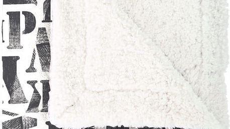 Pléd Mistral Home Alphabet, 130x170