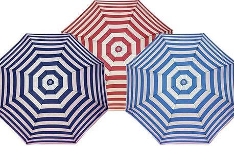 Rozkládací deštník s námořnickým potiskem ve 3 barvách