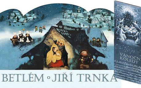 STUDIO Trnka s .r.o. Betlém skládací + Vánoční koledy s notami