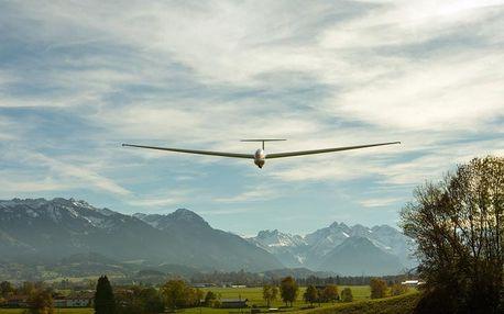 Akrobatický let větroněm