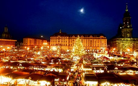 Drážďany: Festival štoly, adventní trhy, Primark