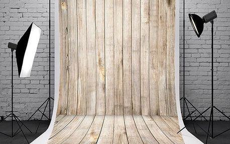 Fotopozadí do ateliéru - dřevěná místnost - 1,5 x 2,1 m