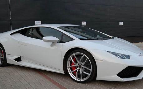 Jízda v Lamborghini Huracán v Praze