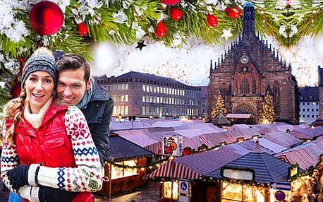 1denní zájezd do adventního Norimberku s prohlídkou historického Starého města
