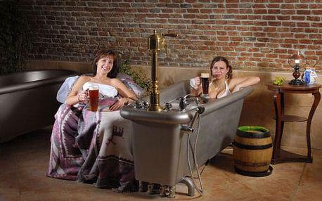 Pivní lázně pro jednoho u Mariánských Lázní