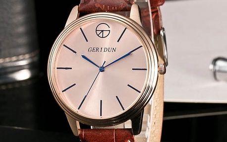 Pánské moderní hodinky se silným páskem