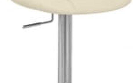 Barová židle CL-8023 BG krémová