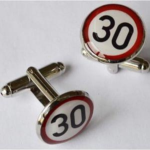 Manžetové knoflíčky - 30