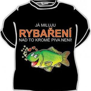 Tričko - Já miluju rybaření - XXXL