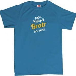 Tričko - Nejlepší bratr - modré - XL