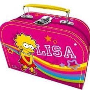 VITAR The Simpsons Kufřík Lisa - 50 tabletek multivitamínu želé + multivitamín s kolostrem 45 tabletek + kufřík jako dárek