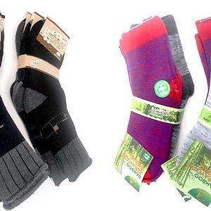 Zdravotní termo ponožky ve dvou variantách