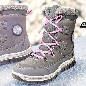 Šněrovací zimní botky Alpine Pro