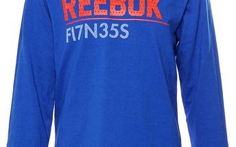 Dětské tričko s dlouhým rukávem Reebok vel. 7 - 8 let, 128 cm