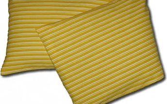 Nahřívací polštářek RELAX PLUS - žlutá