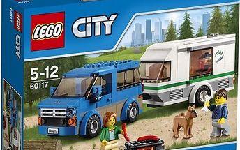 LEGO® City 60117 Dodávka a karavan