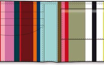 Pánská peněženka Colour Lines - doprava zdarma!